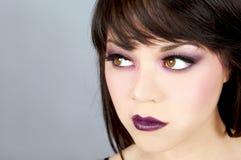 Maquillaje dramático Imágenes de archivo libres de regalías