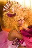 Maquillaje extravagante Fotos de archivo
