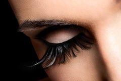 Maquillaje hermoso del ojo Fotos de archivo