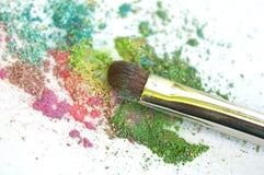 Maquillaje mineral Imágenes de archivo libres de regalías