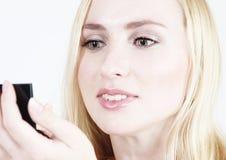 Maquillaje: Muchacha rubia 15 Imágenes de archivo libres de regalías