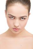 Maquillaje natural de la belleza Imagen de archivo