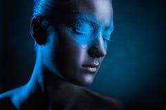 Maquillaje negro Imagenes de archivo