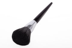 Maquillaje negro del cepillo imagenes de archivo