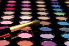 Maquillaje Pallette foto de archivo libre de regalías