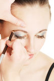 Maquillaje para la chica joven Imágenes de archivo libres de regalías