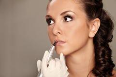 Maquillaje permanente Fotografía de archivo libre de regalías