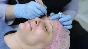 Maquillaje permanente Tatuaje permanente de cejas metrajes