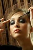 Maquillaje profesional fotografía de archivo libre de regalías