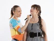 Maquillaje profesional Fotos de archivo