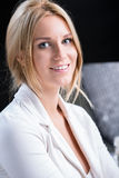 Maquillaje profesional de la novia foto de archivo libre de regalías