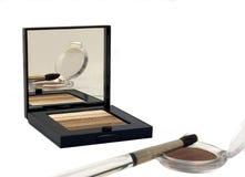 Maquillaje reflexivo foto de archivo libre de regalías