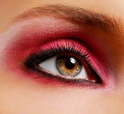 Maquillaje rosado Imágenes de archivo libres de regalías