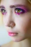 Maquillaje rosado Imagen de archivo libre de regalías
