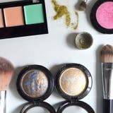 Maquillaje, todo para el maquillaje Foto de archivo libre de regalías