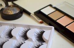 Maquillaje, todo para el maquillaje Imagen de archivo
