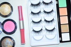 Maquillaje, todo para el maquillaje Fotos de archivo