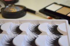Maquillaje, todo para el maquillaje Fotos de archivo libres de regalías