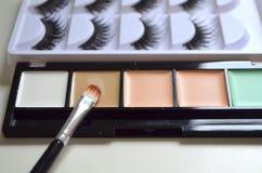 Maquillaje, todo para el maquillaje Imagen de archivo libre de regalías