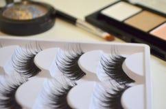 Maquillaje, todo para el maquillaje Fotografía de archivo