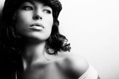 Maquillaje y manera Imágenes de archivo libres de regalías