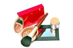 Maquillaje y perfume Fotos de archivo libres de regalías
