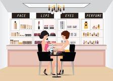 Maquilleur professionnel travaillant avec la brosse de maquillage Photos libres de droits