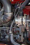 Maquinaria agrícola del motor Imágenes de archivo libres de regalías