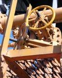 Maquinaria amarela Foto de Stock Royalty Free