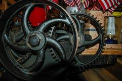 Maquinaria antiga de Amish Fotos de Stock Royalty Free