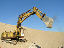 Maquinaria da construção Foto de Stock Royalty Free
