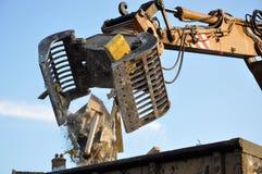 Maquinaria da demolição Imagens de Stock Royalty Free