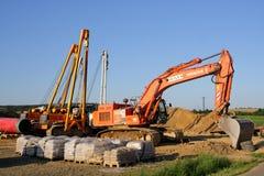 Maquinaria de construção Fotos de Stock