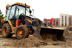 Maquinaria de construção Foto de Stock Royalty Free