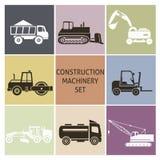 Maquinaria de construcción Imágenes de archivo libres de regalías