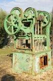 Maquinaria de granja vieja Fotos de archivo libres de regalías