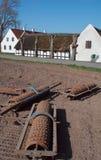 Maquinaria de granja vieja Fotografía de archivo libre de regalías