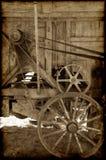 Maquinaria de granja vieja Imagen de archivo libre de regalías
