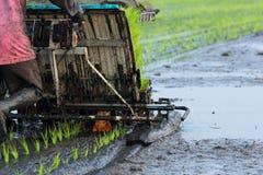 Maquinaria de la agricultura Foto de archivo libre de regalías