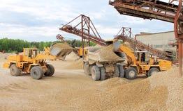 Maquinaria de mina Foto de archivo libre de regalías