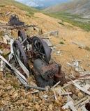 Maquinaria de mina vieja Fotografía de archivo