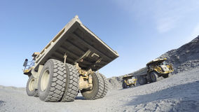 Maquinaria de mineração Foto de Stock Royalty Free