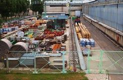 Maquinaria de Warehouse Foto de archivo