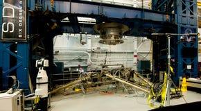 Maquinaria del muelle de la estación espacial Fotografía de archivo
