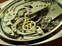Maquinaria del reloj fotografía de archivo