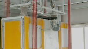 Maquinaria eléctrica del molino para la producción de harina de trigo Equipo del grano almacen de video