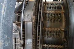 Maquinaria en la fábrica imagenes de archivo