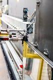 Maquinaria, fábrica de la ventana de cristal Fotos de archivo