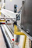 Maquinaria, fábrica do indicador de vidro Fotos de Stock