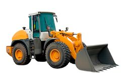 Maquinaria grande da máquina escavadora Imagens de Stock